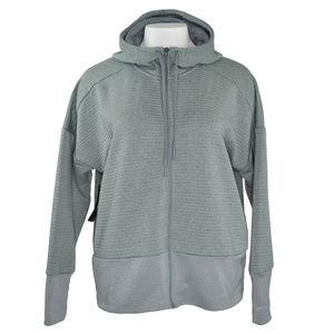 Nike Womens Full Zip Hoodie Dry Fit Logo M New